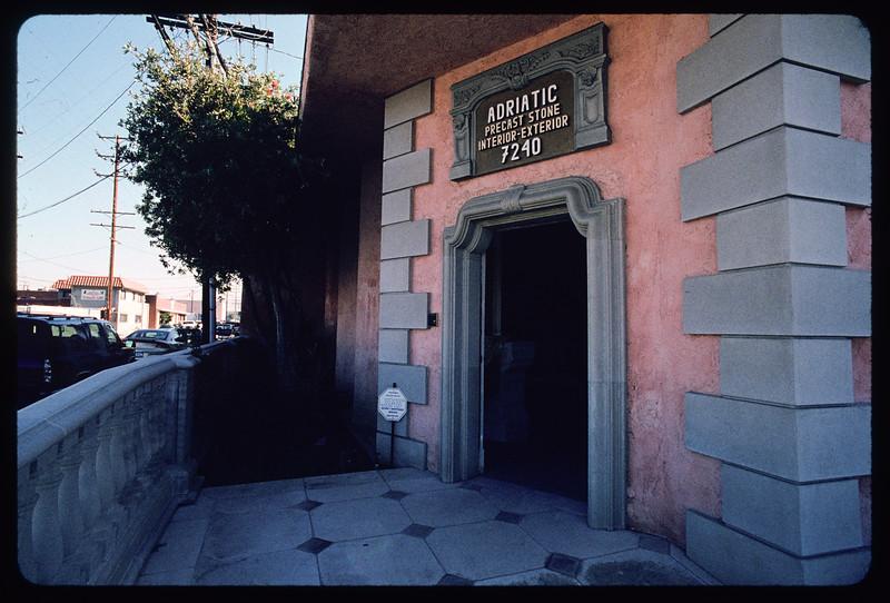 Adriatic Pre-Cast Stone, Inc., North Hollywood, 2004