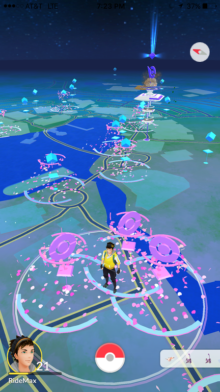 Pokémon GO at Walt Disney World's Disney Springs