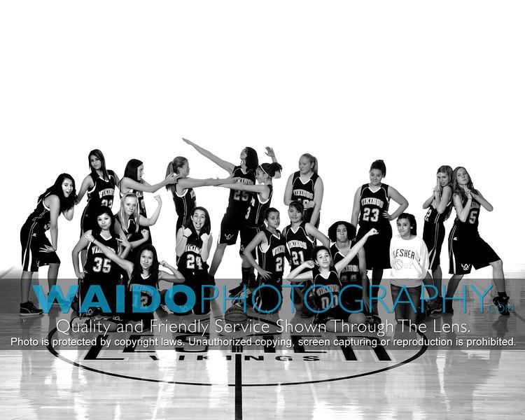 2012 LMS Girls Basketball