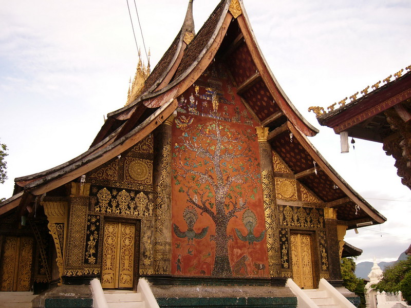One of Luang Prabang's most famous temples