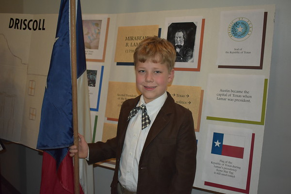Third Grade Living Wax Museum