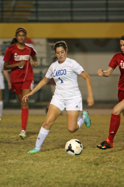 11-4-16 ( VAR GIRLS SOCCER) Clearwater @ Largo