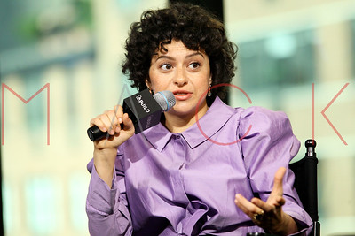 """NEW YORK, NY - NOVEMBER 16:  Alia Shawkat visits AOL Build Series to discuss the TBS series """"Search Party"""" at AOL HQ on November 16, 2016 in New York City."""