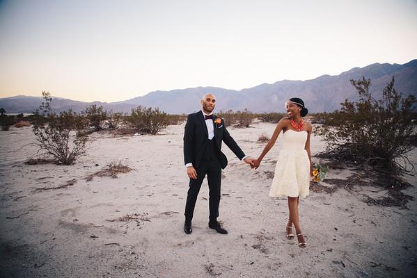 Dionne & Dawud / Palm Springs, CA Wedding