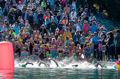 2011 Barbara Schmidt Millar Triathalon swim,  www.bsmtri.org