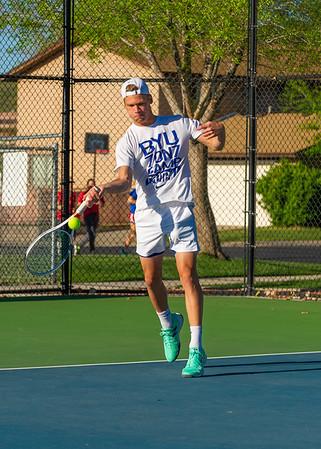 2019-04-13 Dixie HS Tennis - Myles Keenan