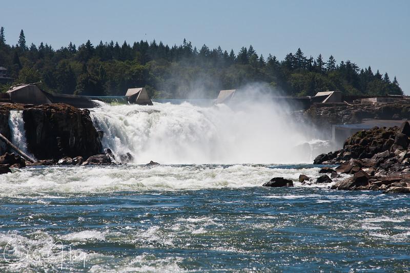 Willamette River -- The Falls at Oregon City