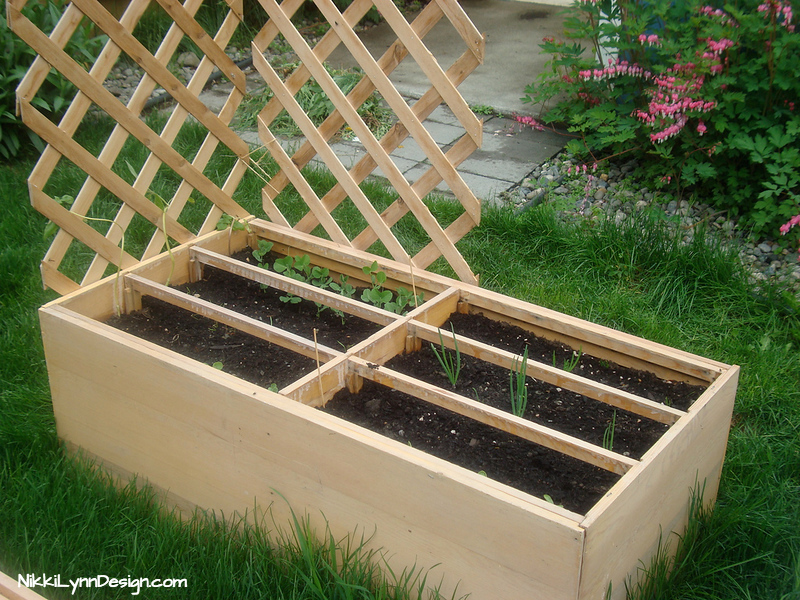 Old Dresser Turned Into a Raised Garden Bed