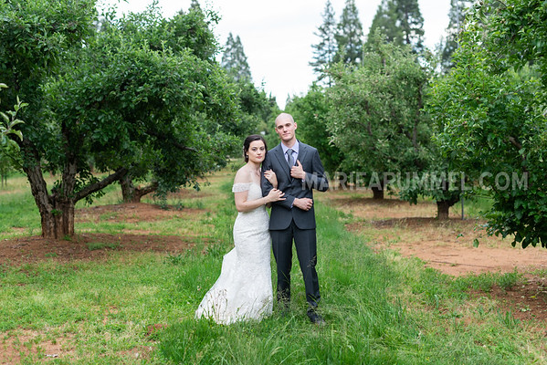 Michael and Tiana: High Sierra Iris Gardens