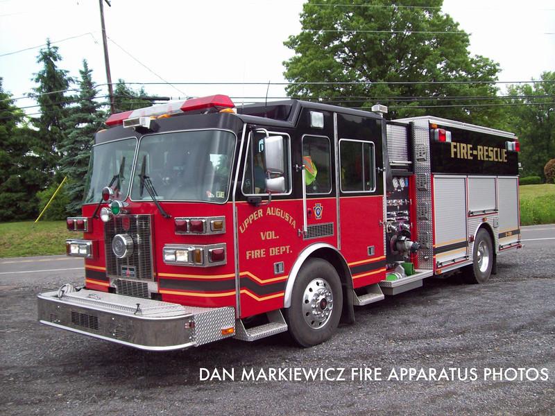 UPPER AUGUSTA FIRE CO. ENGINE 721  2005 SUTPHEN PUMPER/RESCUE