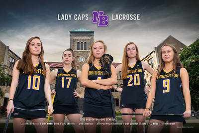 Lady Caps Poster