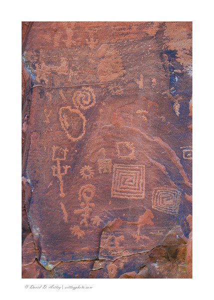 Petroglyphs, V Bar V Heritage Site, Coconino National Forest, AZ