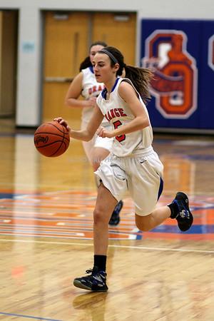 Orange Girls Basketball 1-26-2016
