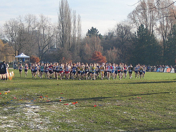 2005 Canadian XC Championships - The start of the junior men