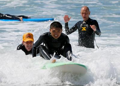 2017_09_23 Surf Camp 22 P2 Boy Dark Hair WS Bl Y V on Back