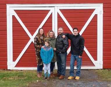 Jeremy & Temple & Family