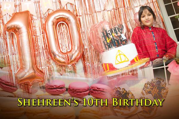 Shehreen's 10th Birthday