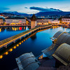 Old town view / Lucerne, Switzerland