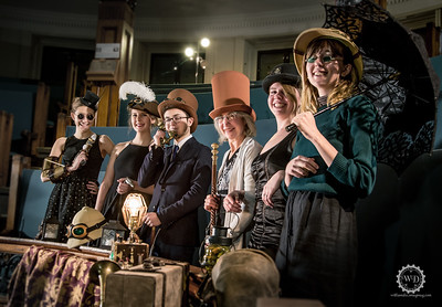 Steampunk Montreal - Redpath-Gala
