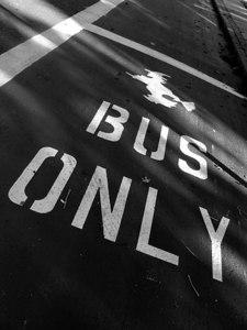 Bus lane Salem, MA