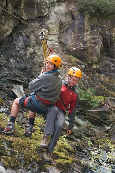 Cooper and Matt hanging around
