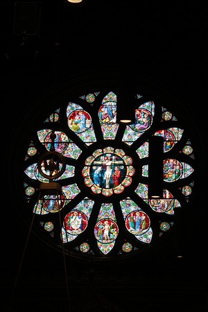 Cathedral Rose Window 2013