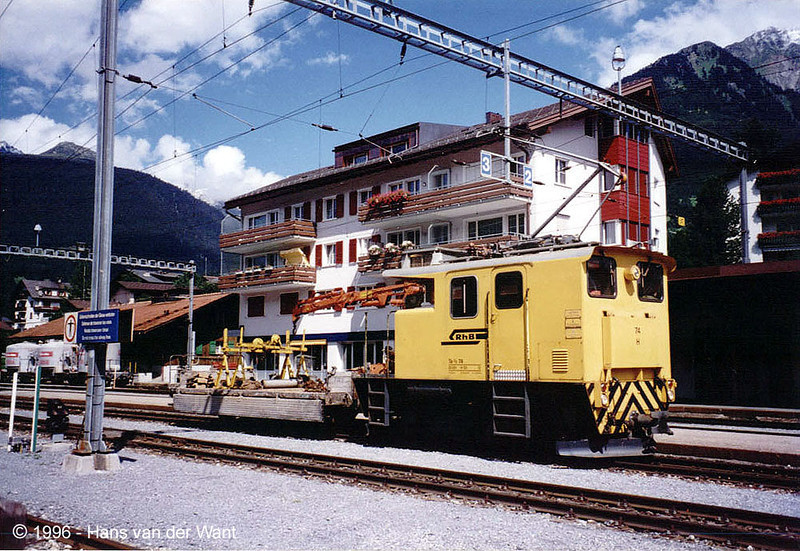 RhB-74 - Klosters - 29-08-1996