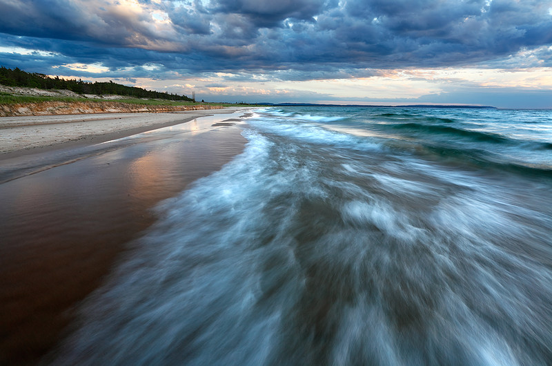 Dune Deluge - Esch Road Beach (Sleeping Bear Dunes National Lakeshore - Michigan)
