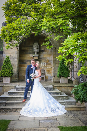 Jade and Scott's wedding photography Rudding Park Harrogate