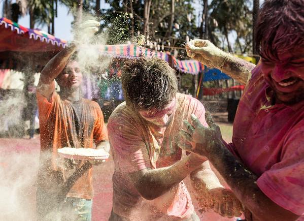 India: Holi