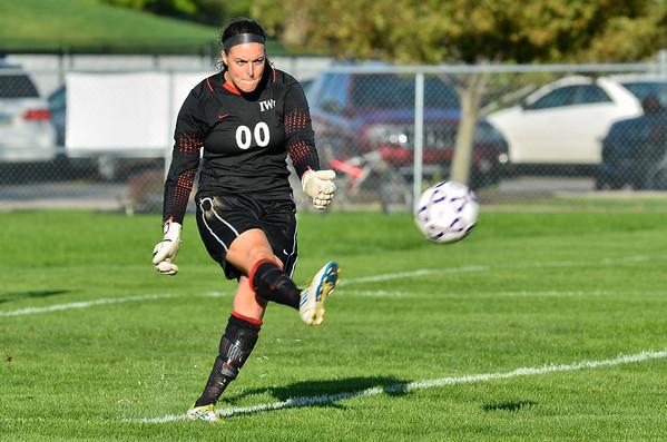 Women's Soccer 9/8/12 vs. Lindsey Wilson