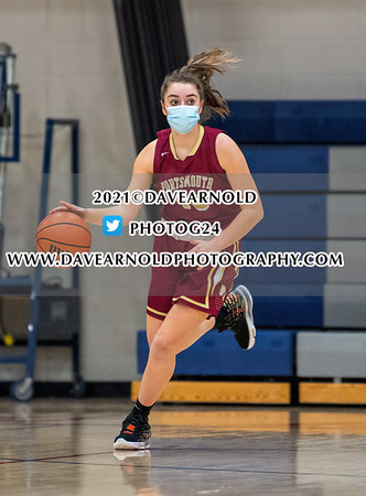 3/2/2021 - Girls Varsity Basketball - NHIAA D1 1st Round - Portsmouth vs Winnacunnet