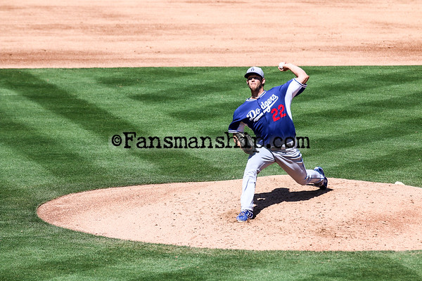 Dodgers Vs. As - 03212015