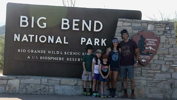 First Day at Big Bend National Park