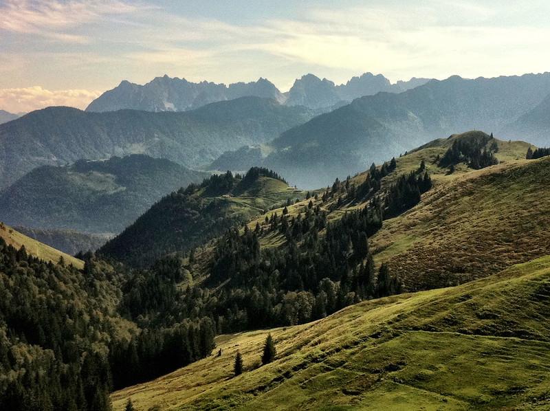Kaisergebirge (iPhone 4, Camera+ app, Clarity filter)