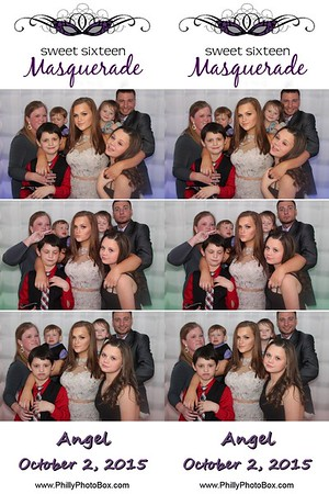 Angel's Sweet 16 Masquerade Party
