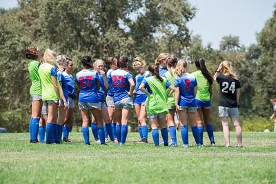 180811 - 01 Girls U18 - San Juan ECNL @ American River FC Freedom