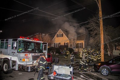 3 Alarm Dwelling Fire - 55 Benton St, New Haven, CT - 1/5/19
