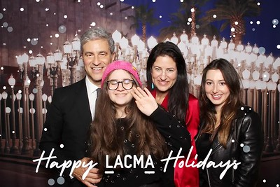LACMA director holiday party
