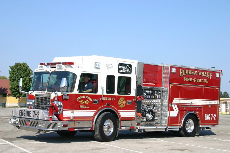 Hummels Wharf (Snyder Co.) Engine 7-2: 2007 Spartan/Crimson 2000/500