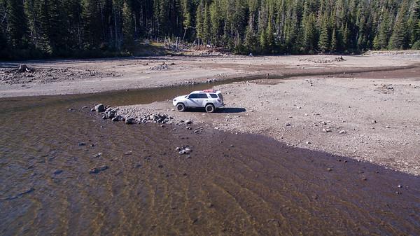 Badger Lake Exploring September 2018