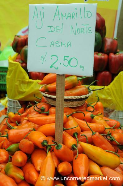 Aji Amarillo del Norte Casma - Mistura Gastronomy Festival in Lima, Peru