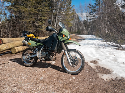 04-07 a chiily, early klr ride