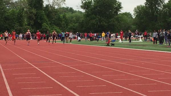 Boys 100m Dash FInals