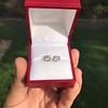 1.85ctw Old European Cut Diamond Stud Earrings 11