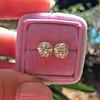 2.23ctw Old European Cut Diamond Stud Earrings 21