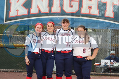 5.2.21 Queens College Softball vs. D'Youville College (Senior Day) Game 1