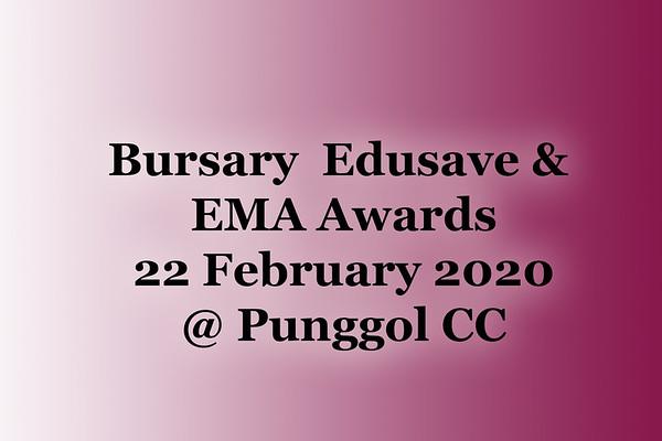 022220  Bursary Edusave EMA Awards  @ Punggol CC