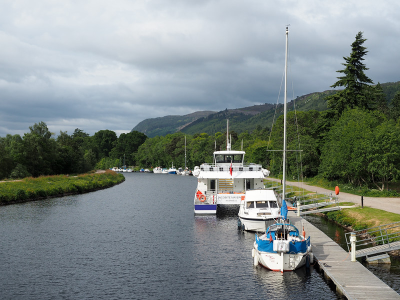 Caledonian Canal in Scotland