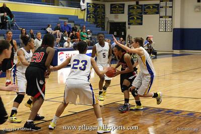 Pflugerville Girls Basketball vs Bowie Bulldogs, December 20, 2012